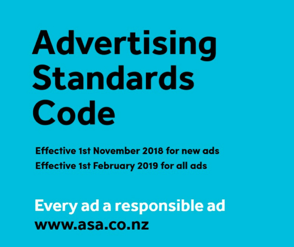 New Advertising Standards Code Comes Into Effect For All New Ads