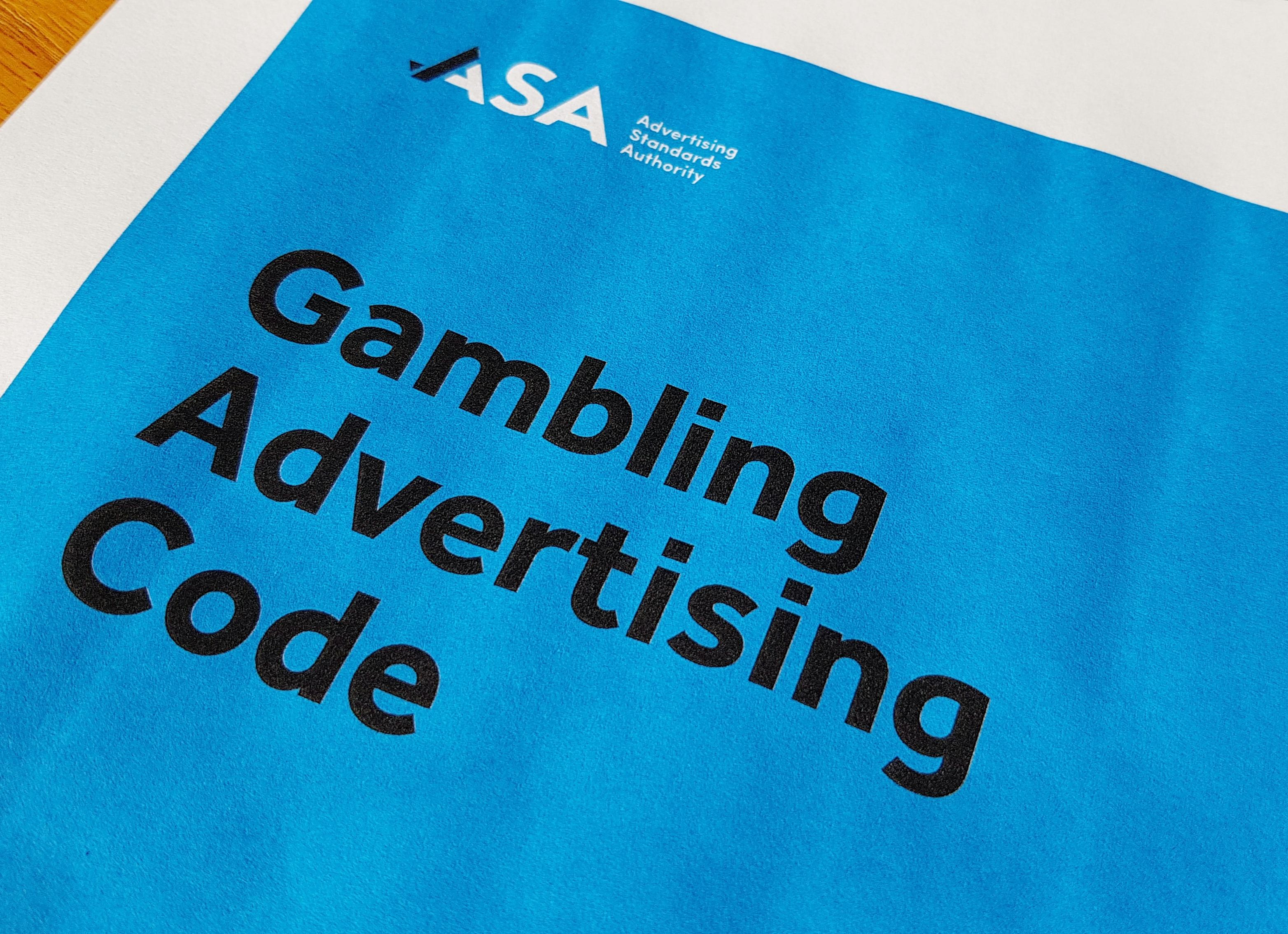 Media Release: New Code for Responsible Gambling Advertising